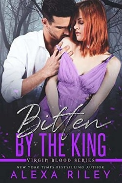 Bitten by the King (Virgin Blood 4) by Alexa Riley.jpg