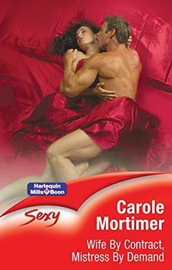 Wife By Contract, Mistress By Demand by Carole Mortimer.jpg