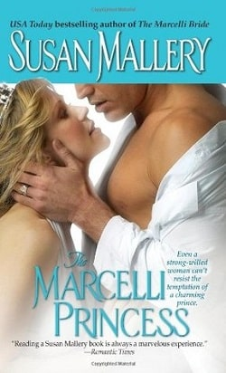 The Marcelli Princess (Marcelli 5) by Susan Mallery
