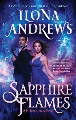 Sapphire Flames (Hidden Legacy 4) by Ilona Andrews