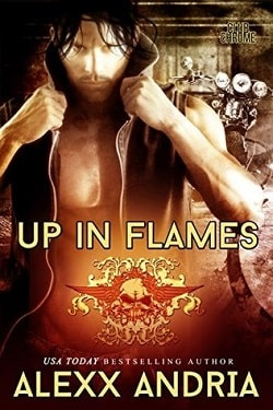 Up In Flames (Club Chrome 3) by Alexx Andria