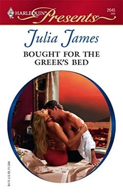 Bought ForThe Greek's Bed by Julia James
