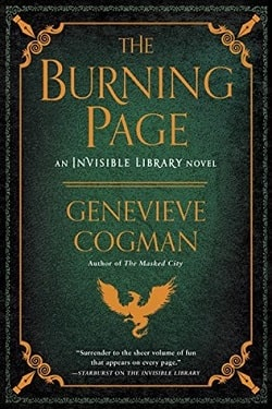 The Burning Page (The Invisible Library 3) by Genevieve Cogman